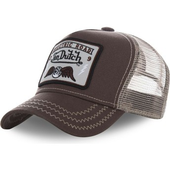 Von Dutch SQUARE2B Trucker Cap braun