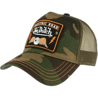 Von Dutch SQUARE4 Trucker Cap camo