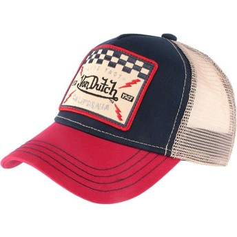 Von Dutch SQUARE16 Trucker Cap marineblau