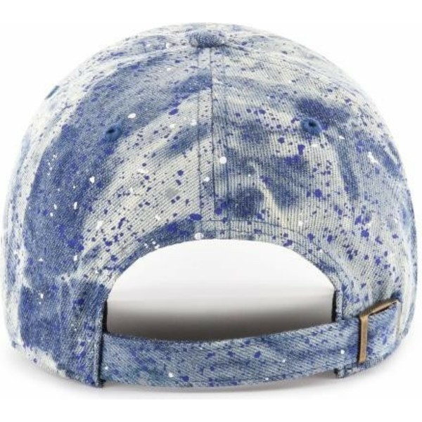 47-brand-curved-brim-blaues-logo-los-angeles-dodgers-mlb-clean-up-splat-cap-blau