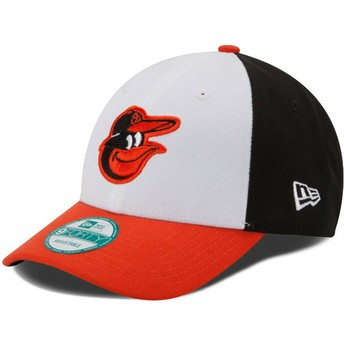 New Era Curved Brim 9FORTY The League Baltimore Orioles MLB weiß
