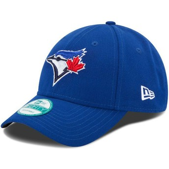 New Era Curved Brim 9FORTY The League Toronto blau Jays MLB Adjustable Cap blau