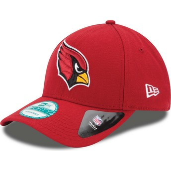 New Era Curved Brim 9FORTY The League Arizona Cardinals NFL Adjustable Cap rot