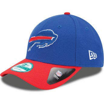 New Era Curved Brim 9FORTY The League Buffalo Bills NFL Adjustable Cap blau und rot