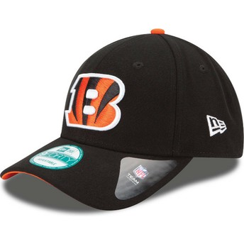 New Era Curved Brim 9FORTY The League Cincinnati Bengals NFL Adjustable Cap schwarz