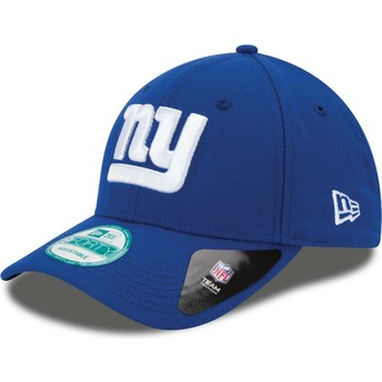 New Era Curved Brim 9FORTY The League New York Giants NFL Adjustable Cap blau