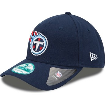 New Era Curved Brim 9FORTY The League Tennessee Titans NFL Adjustable Cap marineblau