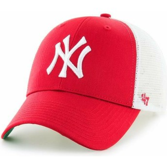 47 Brand Kinder New York Yankees MLB MVP Branson Trucker Cap rot