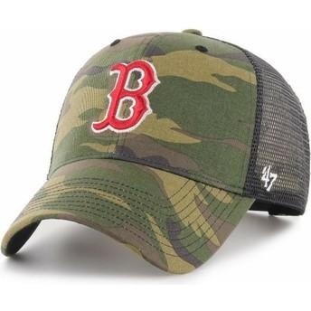 47 Brand Boston Red Sox MLB MVP Branson Trucker Cap camo