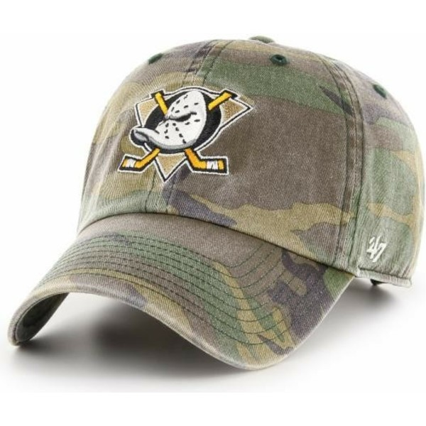 47-brand-curved-brim-anaheim-ducks-nhl-clean-up-adjustable-cap-camo