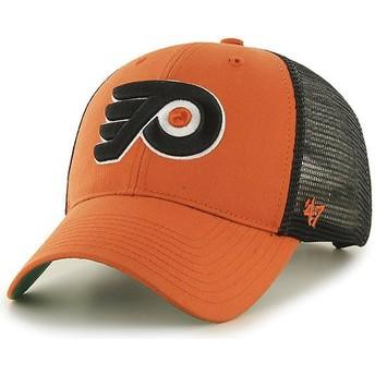 47 Brand Philadelphia Flyers NHL MVP Branson Trucker Cap orange