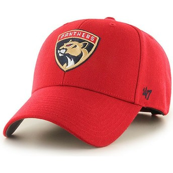47 Brand Curved Brim Florida Panthers NHL MVP Cap rot