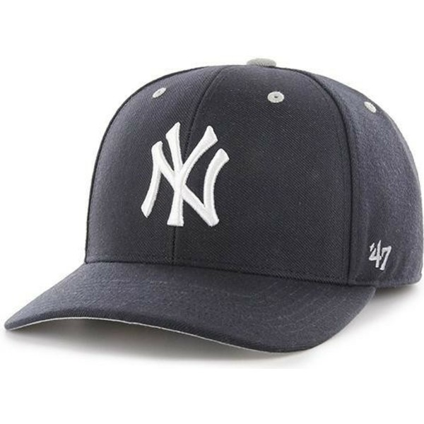 47-brand-curved-brim-new-york-yankees-mlb-mvp-dp-audible-cap-marineblau