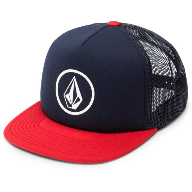 volcom-engine-rot-full-frontal-cheese-trucker-cap-marineblau-mit-rotem-schirm