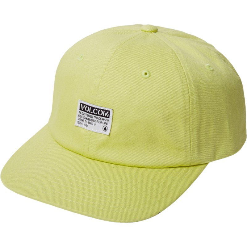 volcom-curved-brim-shadow-lime-case-adjustable-cap-gelb
