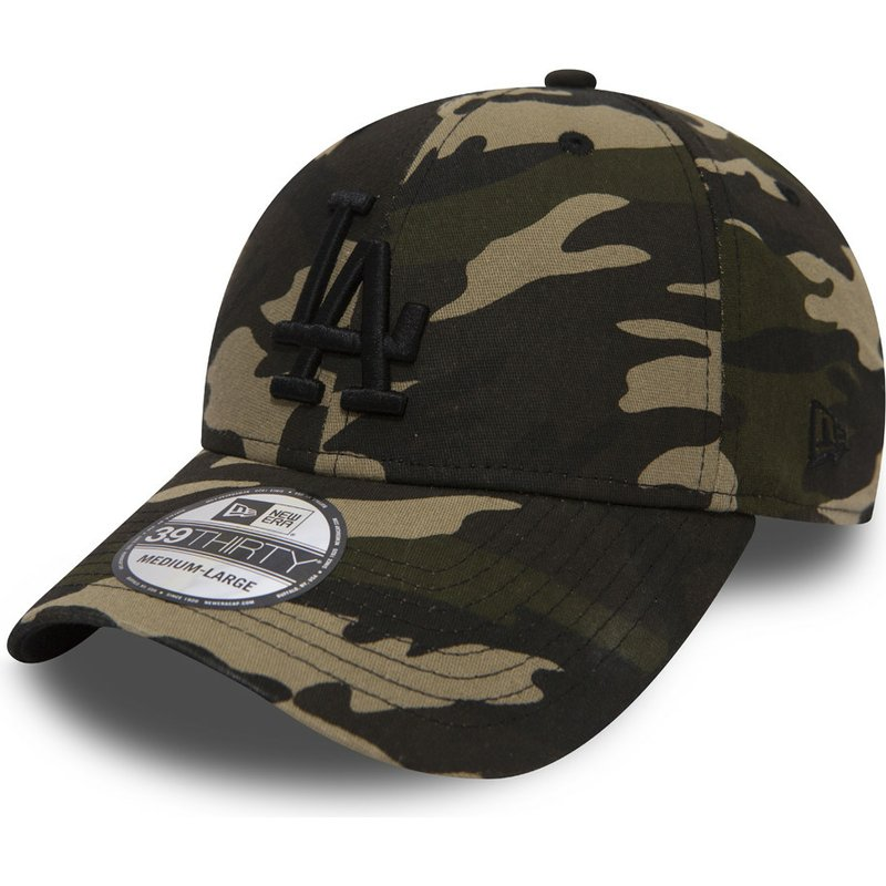 new-era-curved-brim-schwarzes-logo-39thirty-essential-los-angeles-dodgers-mlb-fitted-cap-camo