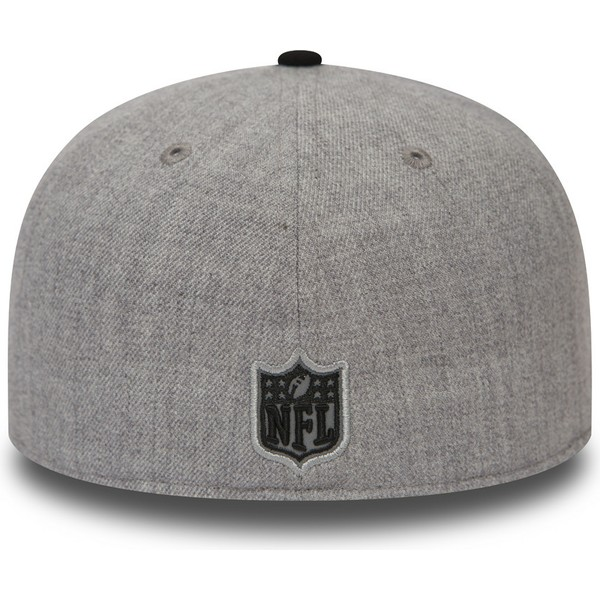 new-era-flat-brim-59fifty-reflective-heather-oakland-raiders-nfl-fitted-cap-grau-und-schwarz