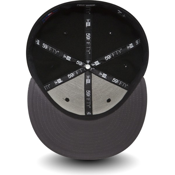 new-era-flat-brim-graues-logo-59fifty-grey-collection-seattle-seahawks-nfl-fitted-cap-schwarz-mit-grauem-schirm