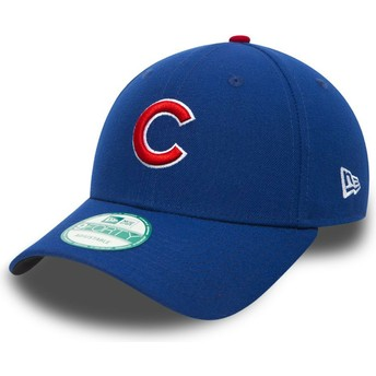 New Era Curved Brim 9FORTY The League Chicago Cubs MLB Adjustable Cap verstellbar schwarz