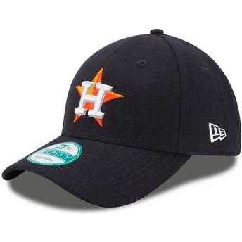 New Era Curved Brim 9FORTY The League Houston Astros MLB Adjustable Cap verstellbar schwarz