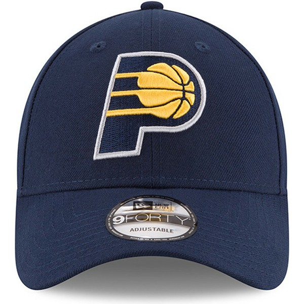 new-era-curved-brim-9forty-the-league-indiana-pacers-nba-adjustable-cap-verstellbar-blau