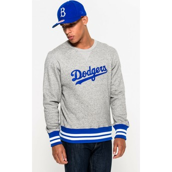 New Era Crew Neck Heritage Brooklyn Dodgers MLB Sweatshirt grau
