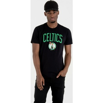 New Era Boston Celtics NBA T-Shirt schwarz