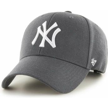 47 Brand Curved Brim New York Yankees MLB MVP Cap dunkelgrau