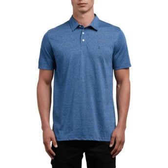 Volcom Blue Drift Wowzer Poloshirt blau