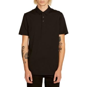 Volcom Black Wowzer Poloshirt schwarz