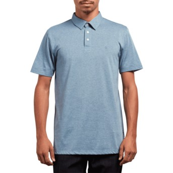 Volcom Wrecked Indigo Wowzer Poloshirt blau