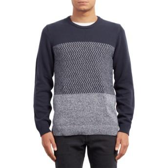 Volcom Navy Bario Update Sweater marineblau