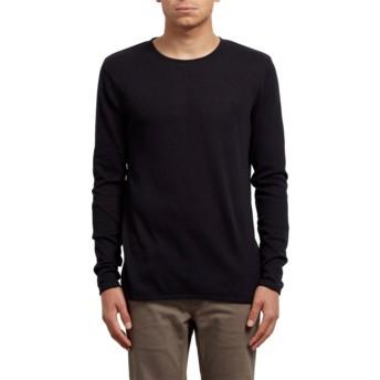 Volcom Black Harweird Sweater schwarz