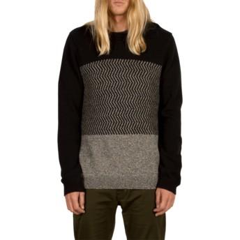 Volcom Black Bario Sweater schwarz