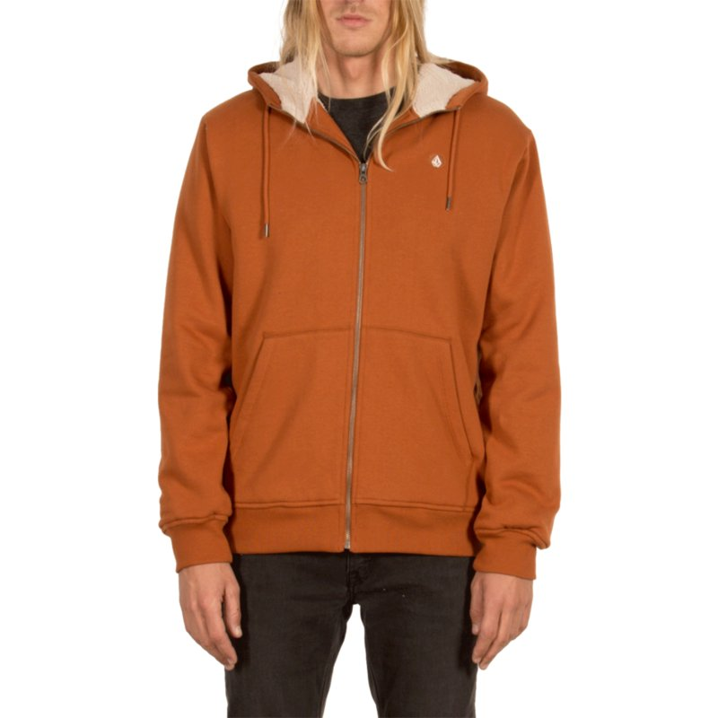 volcom-copper-single-stone-zip-through-hoodie-kapuzenpullover-sweatshirt-braun