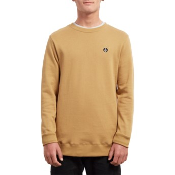 Volcom Old Gold Single Stone Sweatshirt gelb