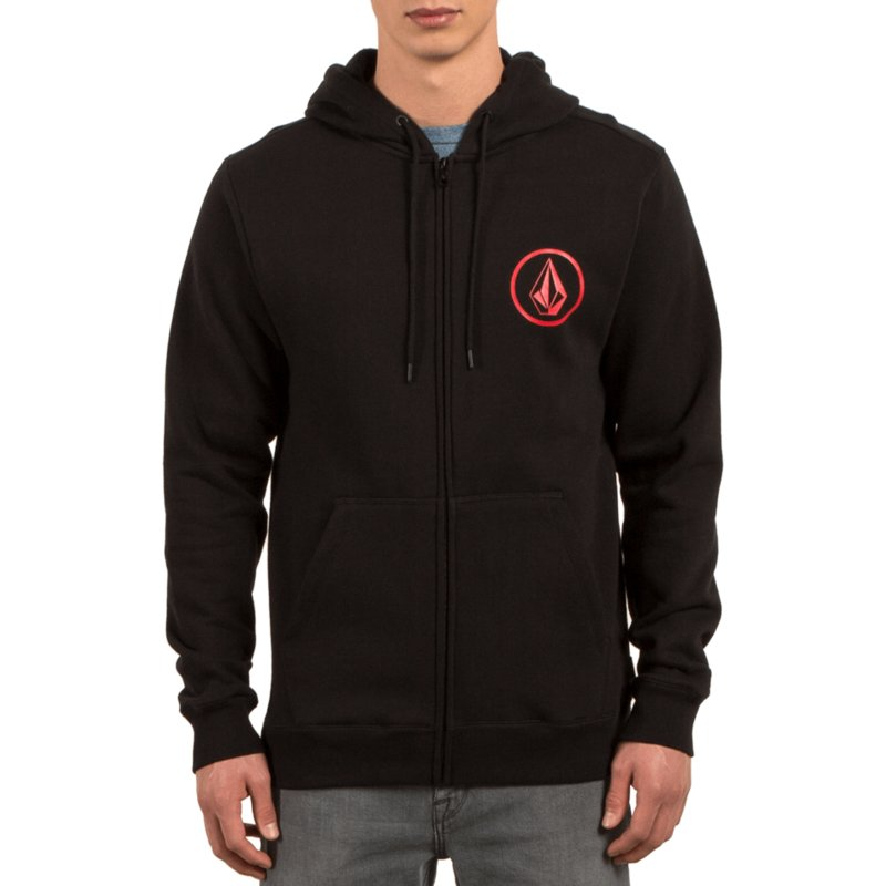 volcom-black-stone-zip-through-hoodie-kapuzenpullover-sweatshirt-schwarz