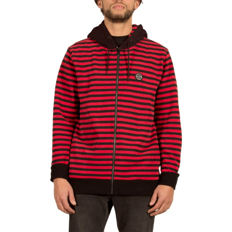 volcom-true-rot-kraystone-zip-through-hoodie-kapuzenpullover-sweatshirt-schwarz-und-rot