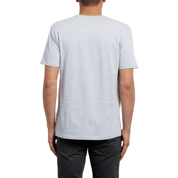 volcom-heather-grau-crisp-euro-t-shirt-grau