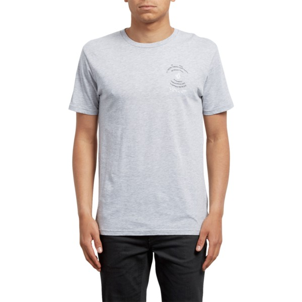 volcom-heather-grau-comes-around-t-shirt-grau