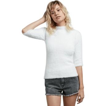 Volcom Star weiß Bunney Riot Sweater weiß