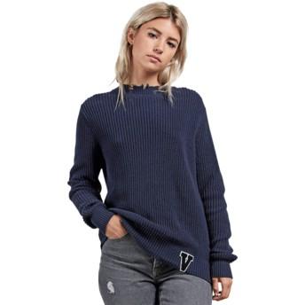 Volcom Sea Navy Snatch Sweater marineblau