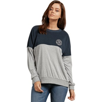 Volcom Sea Navy Blocking Sweatshirt blau