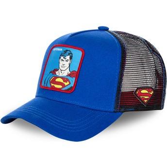 Capslab Classic Superman DC2 SUP DC Comics Trucker Cap blau