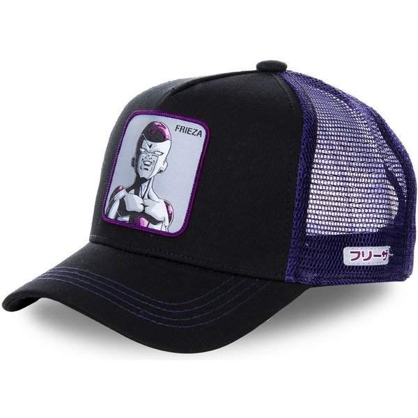 capslab-frieza-freb-dragon-ball-purple-trucker-schwarz-und-hat