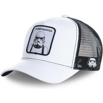 Capslab Stormtrooper WA Star Wars Trucker Cap weiß