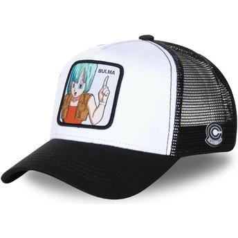 Capslab Bulma BUL3 Dragon Ball Trucker Cap weiß und schwarz