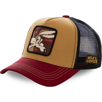 Capslab Wile E. Coyote COY2 Looney Tunes Trucker Cap braun