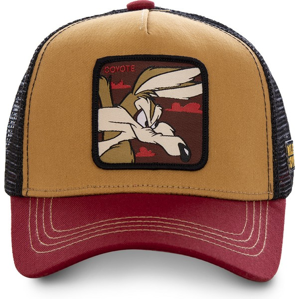 capslab-wile-e-coyote-coy2-looney-tunes-trucker-cap-braun