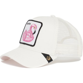 Goorin Bros. Flamingo Floater Trucker Cap weiß